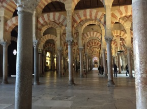 B1. Cordoba mosque -cathedral 25.1.18.