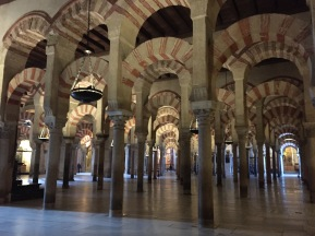 B2. Mosque cathedral Cordoba - 25.1.18.