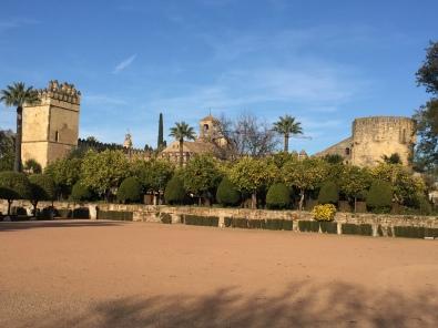 F5. Alcázar de los Reyes Cristianos, Cordoba 24.1.18.