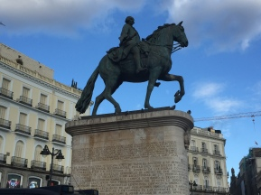 A2. Monument to King Charles III, Madrid 6.2.18.