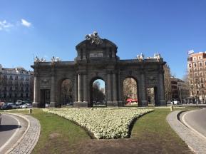 A3. Puerta de Alcalá, Madrid 7.2.18.