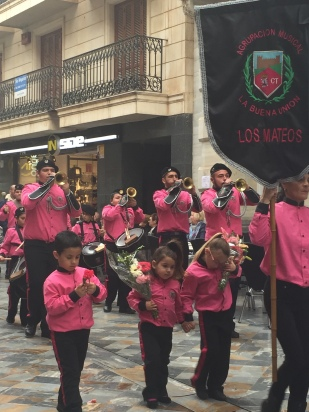 A4. Floral Parade, Cartagena 23.3.18.