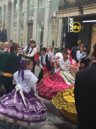 A5. Floral Parade, Cartagena 23.3.18.