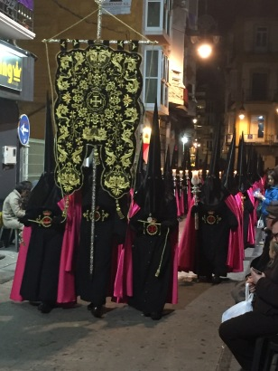C1B. Holy week procession, Cartagena 23.3.18.