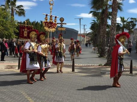 D1. Roman Soldiers, Cartagena 25.3.18.
