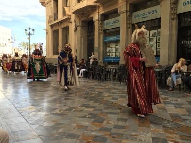 E1. Psalm Sunday Procession, Cartagena 25.3.18.