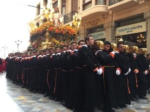 E13. Psalm Sunday procession, Cartagena 25.3.18.