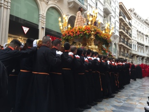 E14b. Psalm Sunday procession, Cartagena 25.3.18.