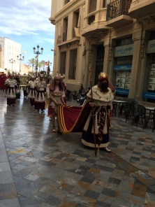 E3. Psalm Sunday procession, Cartagena 25.3.18.