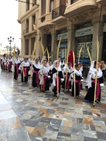 E7. Psalm Sunday procession, Cartagena 25.3.18.