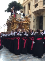 E8. Psalm Sunday procession, Cartagena 25.3.18.