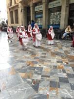 E9. Psalm Sunday procession, Cartagena 25.3.18.