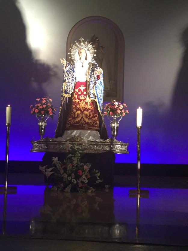 G. Virgin Mary, Cartagena 26.3.18.