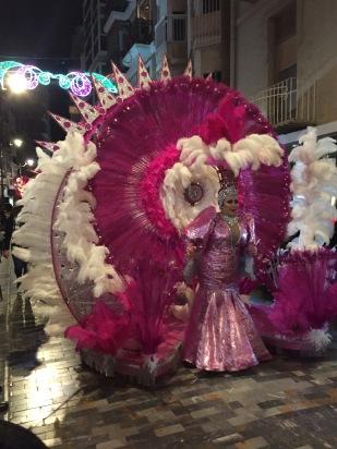 1. Cartagena carnival parade 10.2.18.