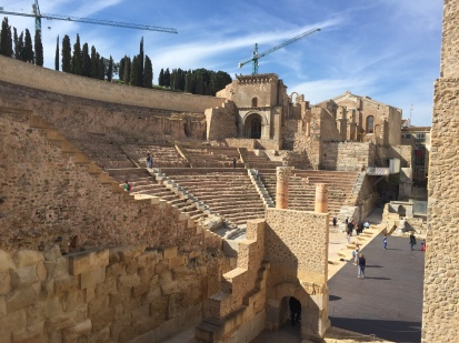 A1. Roman Theatre, Cartagena 29.3.18.