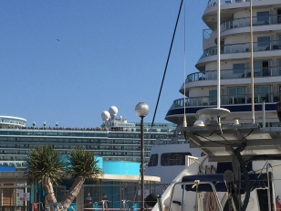 F4. Cruise ships at Cartagena 2018