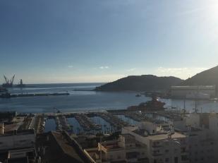G7. View of Cartagena Harbour 4.12.18.
