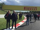 B5. Ian & Gary, Spanish GP 13.5.18.