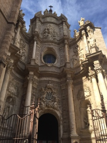 D1. Cathedral in Valencia old town 1.5.18.
