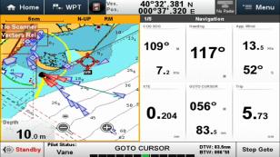 E3. Boats going into Ebro Delta 7.5.18.
