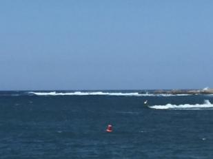 K3. Swell at entrance to Addaya 14.6.18.