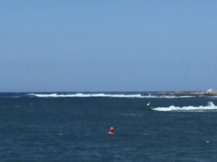 K3. Swell at entrance to Addaya 14.6.18.
