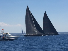 A10. Super Yacht Racing, Palma 21.6.18.