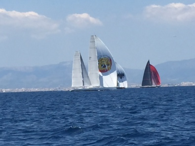 A6. Super Yacht Racing, Palma 21.6.18.
