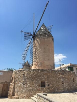 B2. Windmill, Palma 25.6.18.
