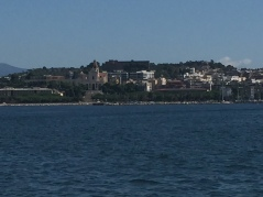 Cagliari from the sea