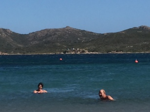 C2. Swimming in Corsica 24.9.18.