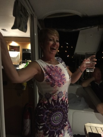 Lesley dancing