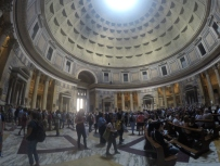 Inside of The Pantheon