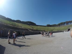 Ampitheatre in Pompeii