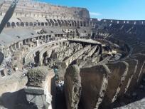 Underground of Colosseum