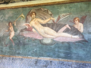 Fresco of Venus